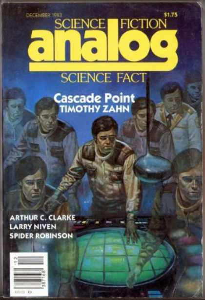 Astounding Stories 640 - Cascade Point - December 1983 - Navigation - Men - Command