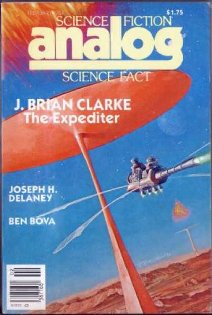Astounding Stories 642 - J Brian Clarke - The Expediter - Bova - Delaney - Bright Cover