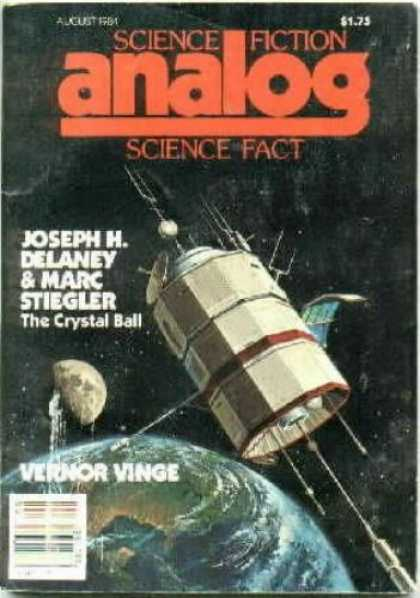Astounding Stories 648 - August 1981 - Science Fiction - Joseph M Delaney - Marc Stiegler - The Crystal Ball