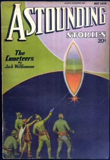 Astounding Stories 66 - Williamson - The Cometeers - 20 Cents - May 1936 - Obelisk
