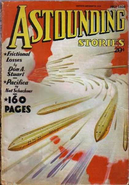 Astounding Stories 68 - Frictional Losses - Don A Stuart - Pacifica - Nat Schachmer - July 1936