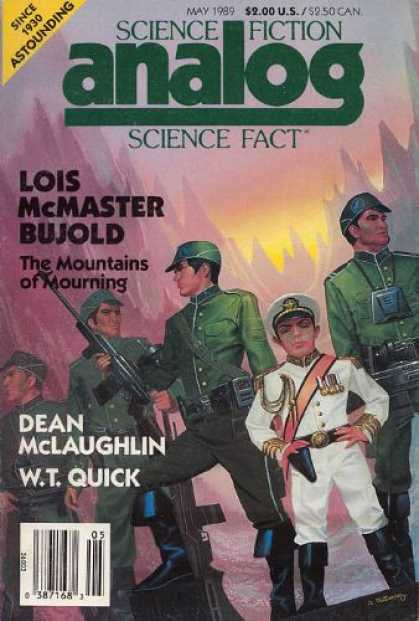 Astounding Stories 710 - The Mountains Of Mourning - Lois Mcmaster Bujold - Soldiers - Military - Mountains