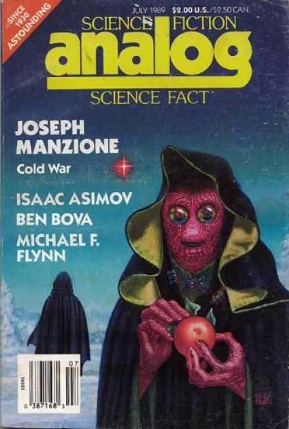 Astounding Stories 712 - Science Fiction - Ben Bova - Michael F Flynn - Cold War - Joseph Manzione