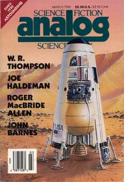 Astounding Stories 721 - Shuttle - March 1990 - Space - Dirt - Planet