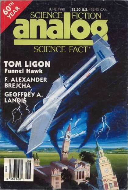 Astounding Stories 724 - Church - Funnel Hawk - June 1990 - Air Craft - Thunder
