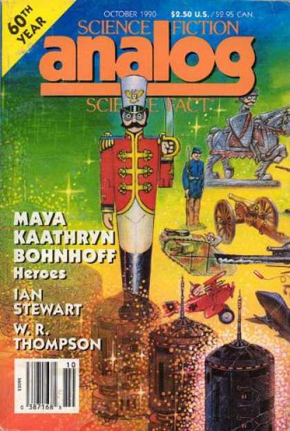 Astounding Stories 728 - Heroes - Toys - Cannon - October 1990 - Tin Soldier