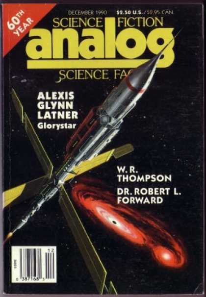 Astounding Stories 730 - Glorystar - Latner - 60th Year - Rocket - December 1990