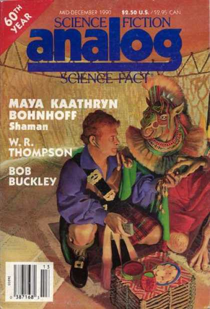 Astounding Stories 731 - Shaman - Mid-december 1990 - Scottish Man - Tribal - Food