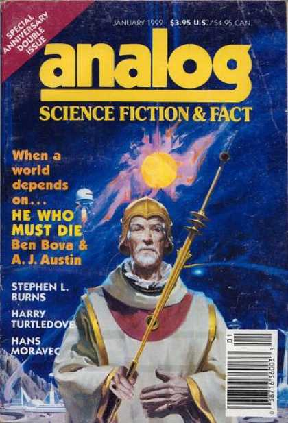Astounding Stories 745 - Bova - When A World Depends On - Double Issue - Anniversary - He Who Must Die