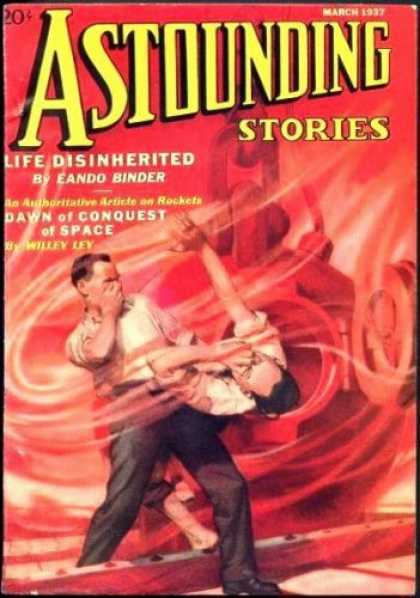 Astounding Stories 76 - Life Disinhearted - March 1937 - Boys - Whirlwind - Space Craft