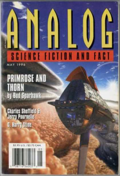 Astounding Stories 801 - Primrose And Thorn - May 1996 - Sparhawk - Stine - Blue Sky