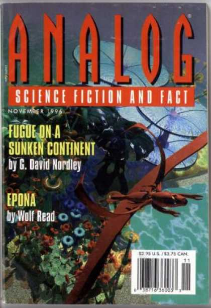 Astounding Stories 807 - November 1996 - Science Fiction - Short Stories - G David Nordley - Wolf Read