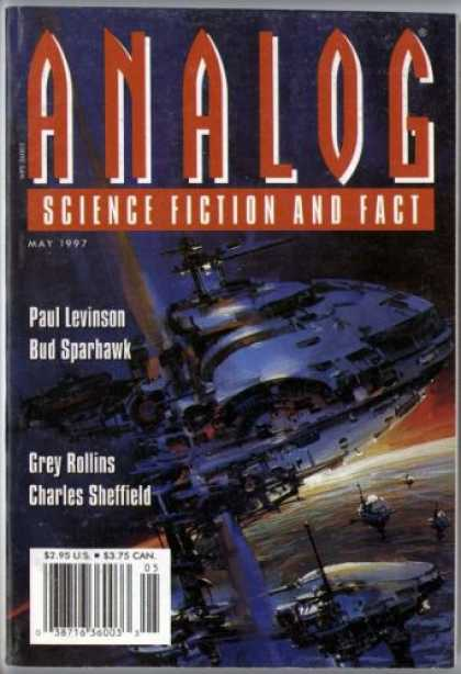 Astounding Stories 813 - Science Fiction And Fact - Analog - May 1997 - Paul Levinson - Bud Sparhawk