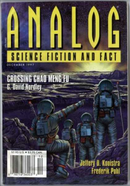 Astounding Stories 819 - Moon - December 1997 - Crossing Chad Meng Fu - Space - Astronaut