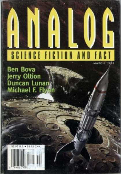 Astounding Stories 822 - March 1998 - Science Fiction - Science Fiction And Fact - Ben Bova - Jerry Oltion
