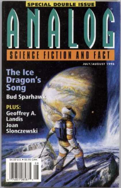 Astounding Stories 826 - Julyaugust 1998 - The Ice Dragons Song - Space - Planet - Astronaut
