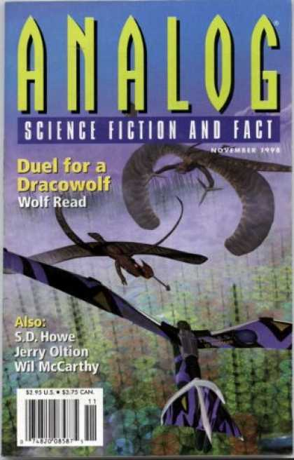 Astounding Stories 829 - Science Fiction And Fact - Analog - Duel For A Dracowolf - Wolf Read - S D Howe