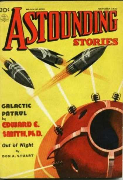 Astounding Stories 83 - October 1937 - Galactic Patrol - Out Of Night - Edward E Smithph D - Don A Stuart