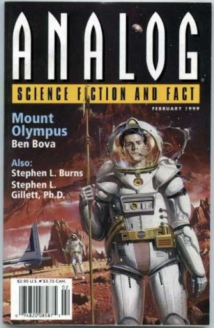 Astounding Stories 832 - February 1999 - Analog - Science Fiction - Mount Olympus - Ben Bova