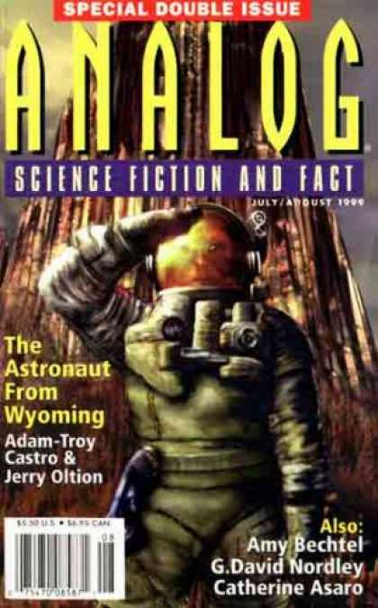 Astounding Stories 837 - Astronaut - Astronaut From Wyoming - Adam-troy Castro - Jerry Oltion - Amy Bechtel