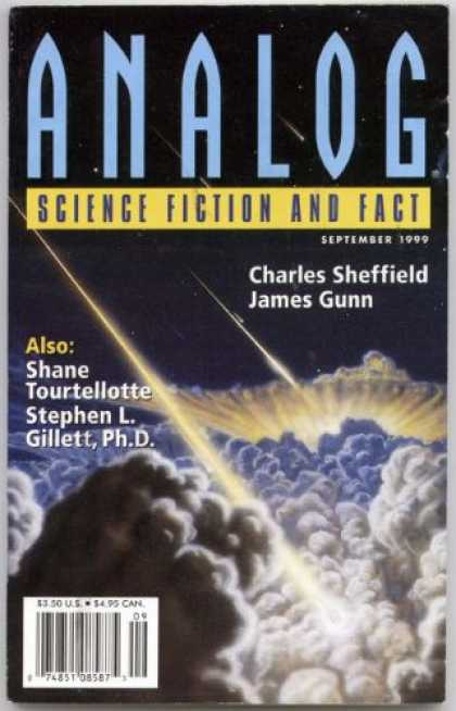 Astounding Stories 838 - Clouds - Space - September 1999 - Explosion - Shower