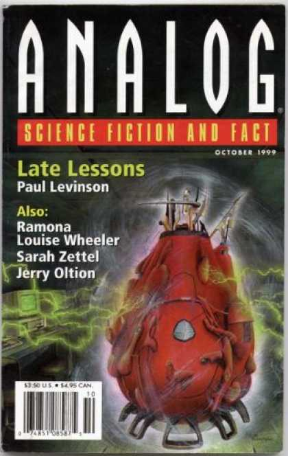 Astounding Stories 839 - Wheeler - Late Lessons - Levinson - October 1999 - Alien Craft