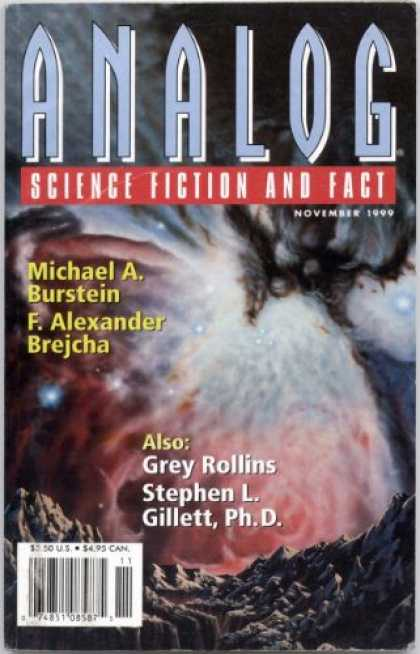 Astounding Stories 840 - Space - November 1999 - Galaxy - Planet - Canyon