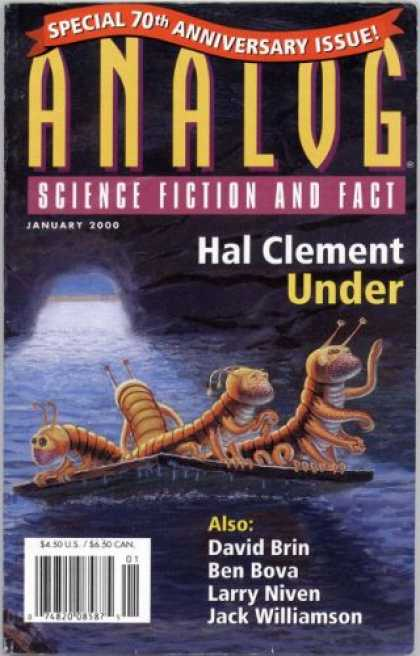 Astounding Stories 842 - Cave - Under - January 2000 - Space - Creatures