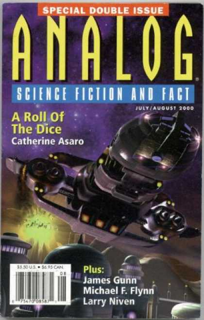 Astounding Stories 848 - Julyaugust 2000 - A Roll Of The Dice - Space Crafts - Space - Galaxy