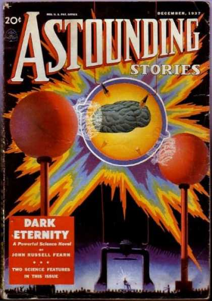 Astounding Stories 85 - December 1937 - Astounding Stories - Astounding - Dark Eternity - John Russell Fearn