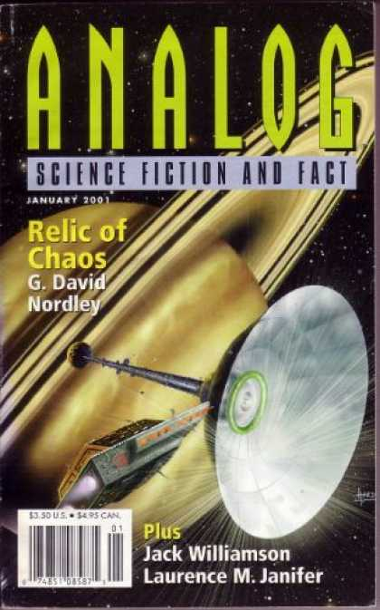 Astounding Stories 853 - Saturn - Analog - Science Fiction And Fact - January 2001 - Relic Of Chaos