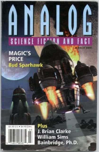 Astounding Stories 855 - Magics Price - Sparhawk - March 2001 - Rocket Ship - J Brian Clarke