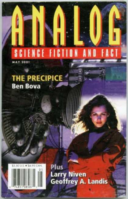 Astounding Stories 857 - Bova - May 2001 - The Precipice - Niven - Lady Astronaut
