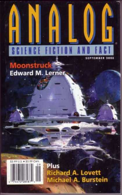 Astounding Stories 882 - Moon - Planets - Outer Space - September 2002 - Craters