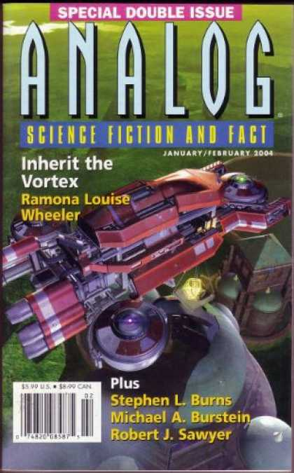 Astounding Stories 886 - Januaryfebruary 2004 - Special Double Issue - Inherit The Vortex - Ramona Louise Wheeler - Stephen L Burns