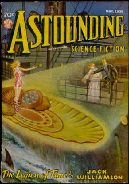 Astounding Stories 90 - The Legion Of Time - May 1930 - Jack Williamson - Steam Liner - Ghost