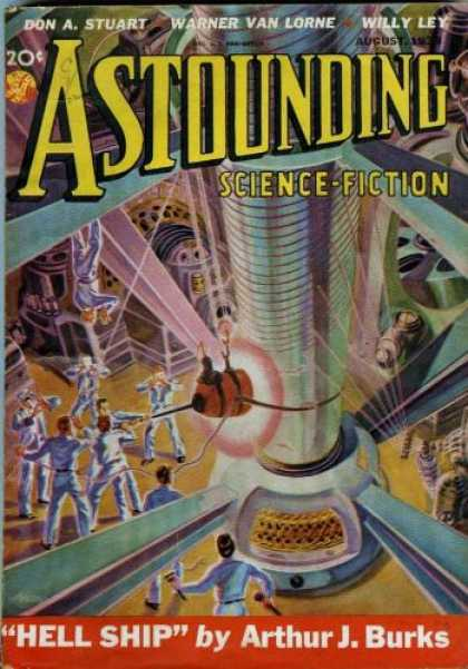 Astounding Stories 93 - Don A Stuart - Warner Van Lorne - Willy Ley - Arthur J Burks - Hell Ship