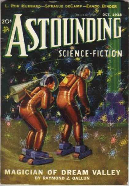 Astounding Stories 95 - L Ron Hubbard - Sprague Decamp - Eando Binder - October 1938 - Magician Of Dream Valley