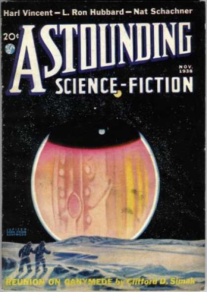 Astounding Stories 96 - Astounding Science Fiction - Science Fiction - Harl Vincent - L Ron Hubbard - Nat Schachner