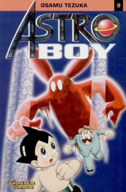 Astro Boy 8 - Boy - Old Man - Spooky Bunny - Saturn - Bow Tie