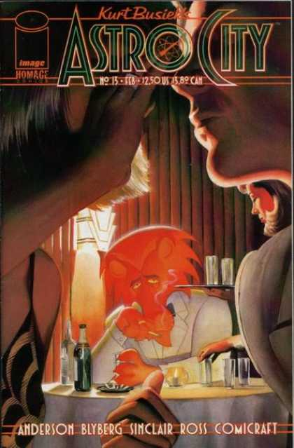 Astro City 13 - Kissing - Jealousy - White Suit - Smoking - Restaurant
