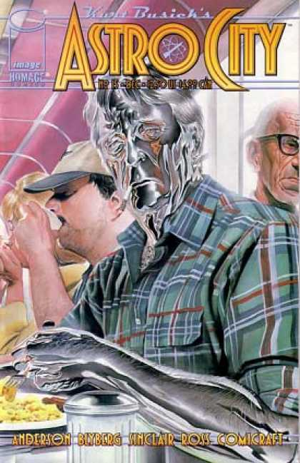 Astro City 15 - Kurt Busiek - Superhero - Breakfast - Men - Silver