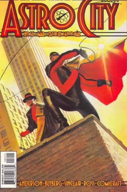 Astro City 16 - Anderson - Sinclair - Ross - Skyscraper - Eye Masks