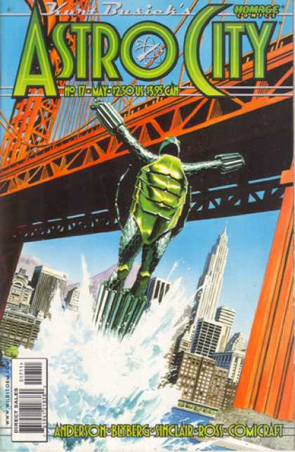Astro City 17 - Comicraft - Anderson - Blyberg - Sinclair - Ross