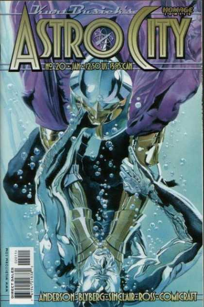 Astro City 20 - Liquid - Bubbles - Anderson - Sinclair - Ross