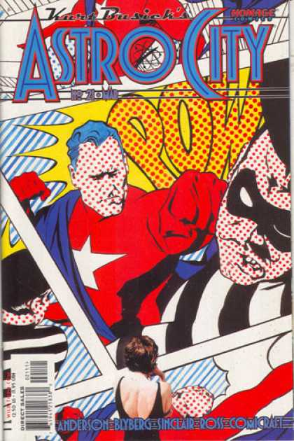 Astro City 21 - Pow - Maks - Star - Cape - Superhero