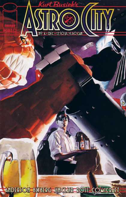 Astro City 4 - Beer - Telescope - Dark - Mask - Monster