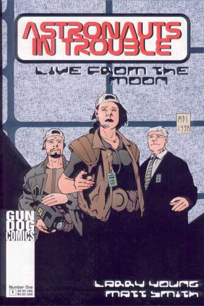 Astronauts In Trouble 1 - Live From The Moon - Gun Dog Comics - Larry Young - Matt Smith - Suit