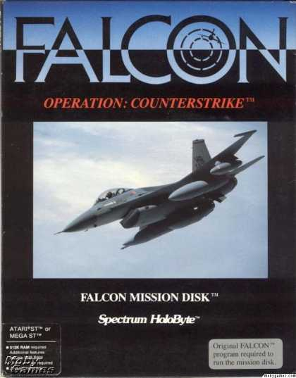 Atari ST Games - Falcon Operation: Counterstrike
