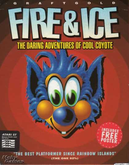 Atari ST Games - Fire & Ice